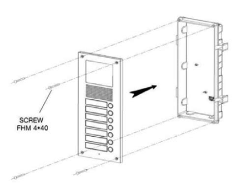 commax video door intercom  apt lobby unit     video monitor kit ebay