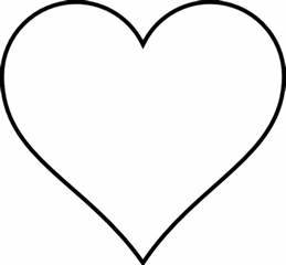 Heart Clipart Black And White - ClipArt Best