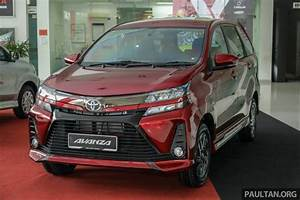 2019 Toyota Avanza Reaches Malaysian Showrooms With Many Updates