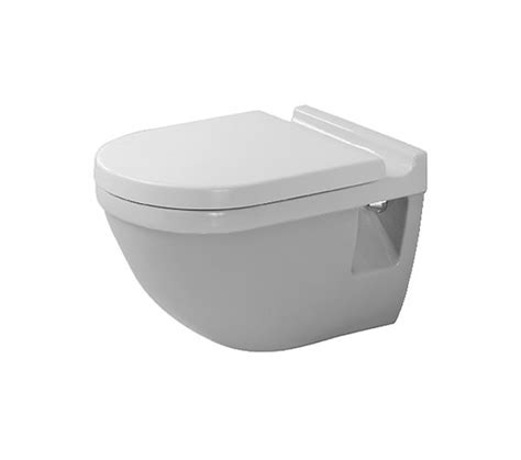 duravit starck 3 wall mounted toilet with seat and cover 540mm