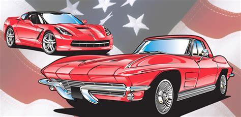 Corvette Vector Clip Art