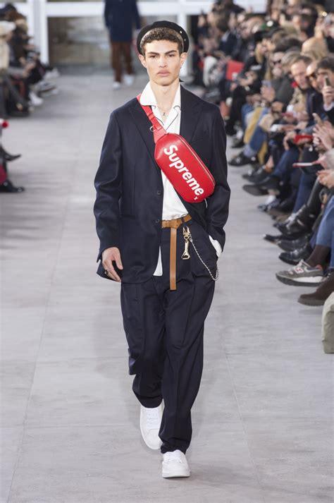 louis vuitton  supreme fall  collaboration fashionista