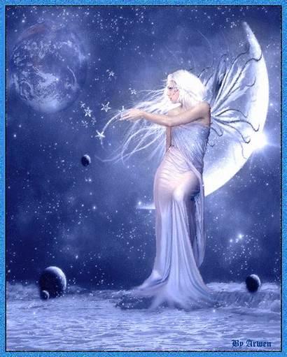 Fairy Moon Goddess Fairies Fantasy Celtas Awen