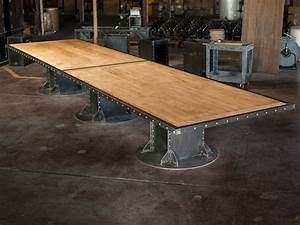 I Beam Conference Table Vintage Industrial Furniture