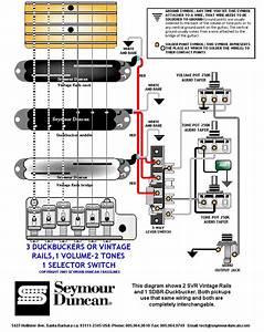 Seymour Duncan P Rails Wiring Diagram