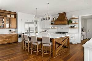 hot, trends, , 20, best, farmhouse, style, kitchens, in, white, and, wood