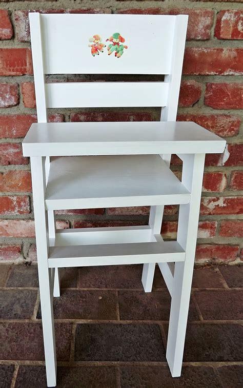 ana white olivias doll crib  high chair sets diy