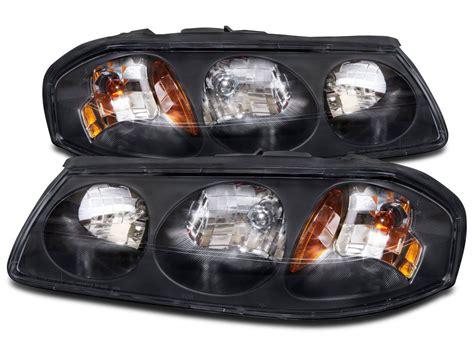 20002004 Chevy Impala Headlights Headlamps Pair Set With