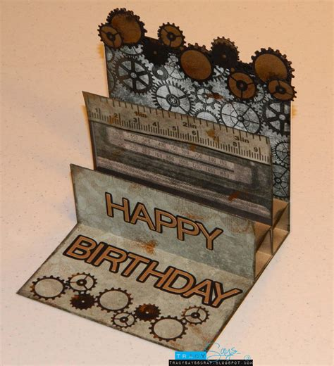 Masculine Birthday Cards To Make  How To Make This Card