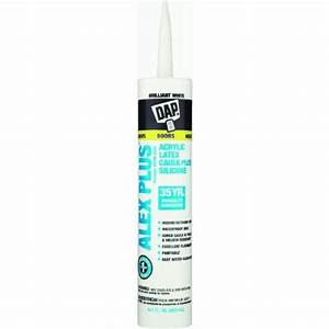 Dap 18152 Alex Plus Acrylic Latex Caulk With Silicone ...