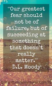 Greatest Failure Succeeding At Something That Doesn 39 T Matter