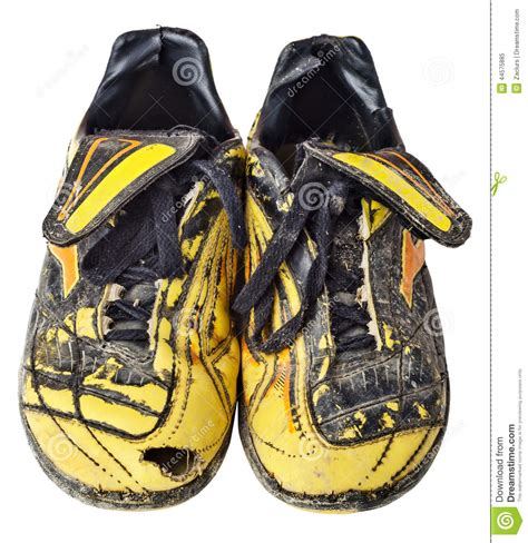 soccer boots stock photo image