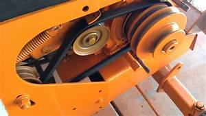 New Drive Belt In The 1968 Sears Hydro