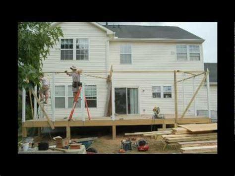 build  screen porch howard county maryland