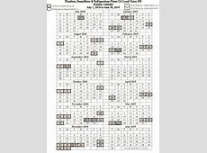 July 1, 2018 – June 30, 2019 Holiday Calendar Local 393