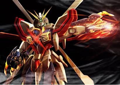 Gundam Mobile Fighter Mode Shining Burning God