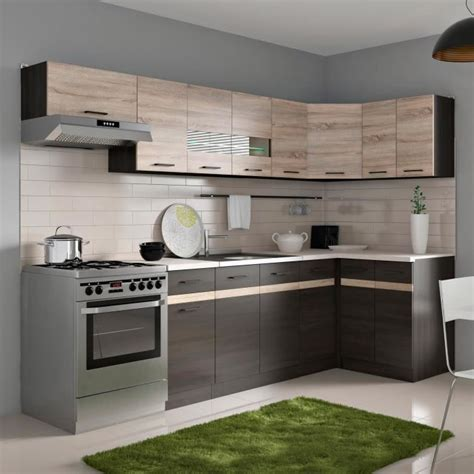 cuisine d angle pas cher meuble cuisine wenge achat vente meuble cuisine wenge pas cher cdiscount
