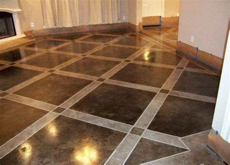 Painted Concrete Floors, Concrete Floor Paint; Tutorial