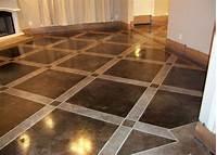concrete painted floors Painted Concrete Floors, Concrete Floor Paint; Tutorial & Videos