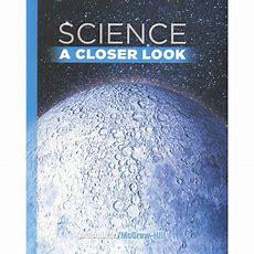 Science, A Closer Look, Grade 6, Student Edition Walmartcom