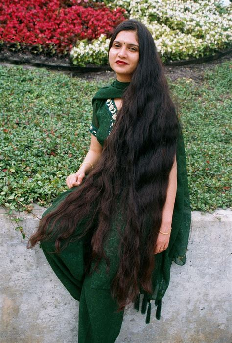 longhairgirls  long hair indian women