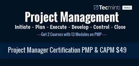 Deal: Project Management Certification PMP & CAPM Bundle ...
