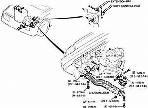 Exploded View 1989 Mazda Rx 7 Manual Transmission