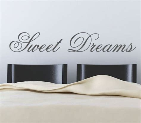 sticker phrase chambre dreams adhesive wall paper wall letters decoration
