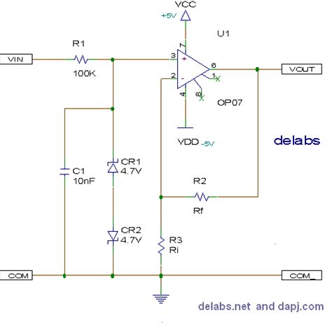 Schematics Delabs Circuit Diagrams Non Inverting