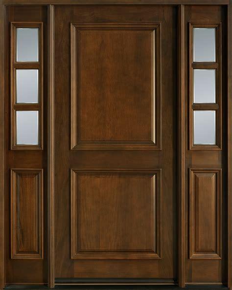 doors for builders entry door in stock single with 2 sidelites solid wood