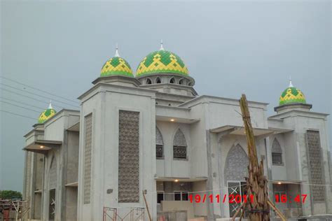 foto karya kubah pt qanaah indoteknik atap kubah