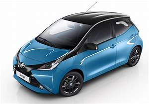 Toyota Aygo Prix Neuf : toyota aygo 2015 nouvelle finition x cite bleu cyan photo 2 l 39 argus ~ Gottalentnigeria.com Avis de Voitures