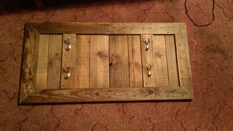 pallet wood gun cabinet plans gun rack from reclaimed pallet wood
