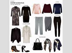 How to create a winter workwear capsule wardrobe