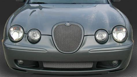 Jaguar S Type R Lower Mesh Grill