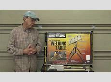 Harbor Freight Welding Table Review Video #49 YouTube