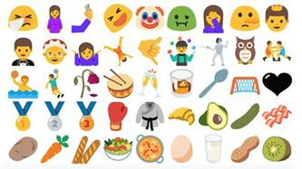 new android emojis android s emoji problem