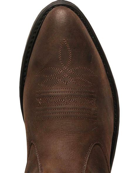 Old West Men Zipper Western Ankle Boot Ebay