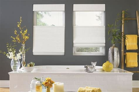 Modern Bathroom Blinds by White Woven Wood Shades Bathroom Woven Wood Blinds
