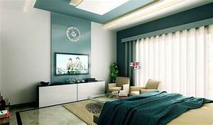 interior bedroom white blue decoseecom With interior design bedroom 3x3