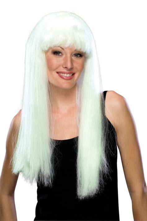 perruque fluo phosphorescente deguisement  vente de