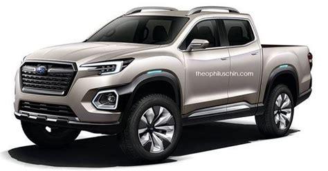 subaru pickup truck based  viziv  concept