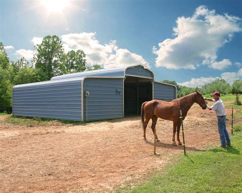 barn horse barns metal elephant cost florida pole prices buildings steel structures fl kits regular certified affordable