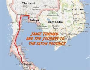 Satun Thailand Map