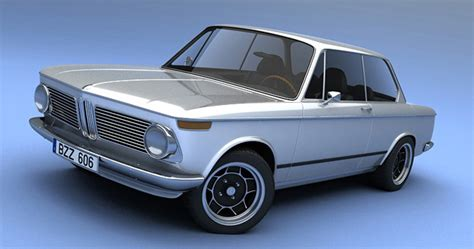 Vizualtech Pays Homage To The Bmw 2002 With New 3d Renderings