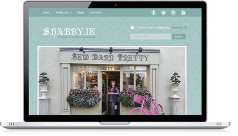 not shabby website web design ireland portfolio shabby ie