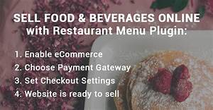 Sell Food And Drinks Online: New Free Option of the ...