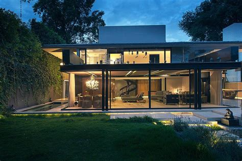 modern glass houses architecture ideas stilt house cool