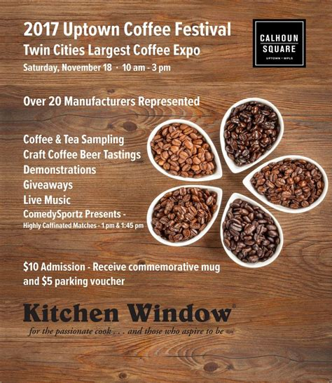 Opening hours for cafes & coffee shops in minneapolis, mn. The Uptown Coffee Festival