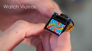 Tinyscreen A Color Display The Size Of Your Thumb By Ken